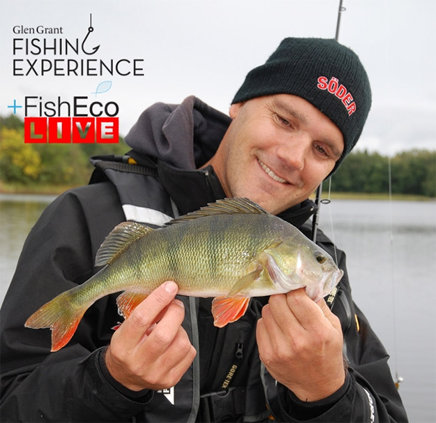 Livefiske med Henke Sandahl