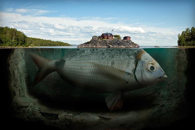 Erik Johansson – Fishy island