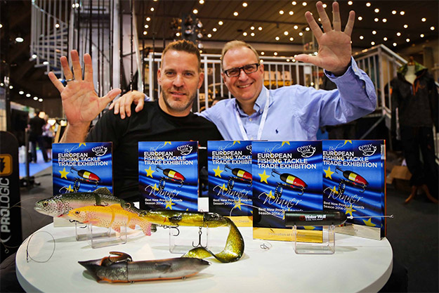 Mads Grosell och Lars Svendsen. Foto: Savage Gear Facebook