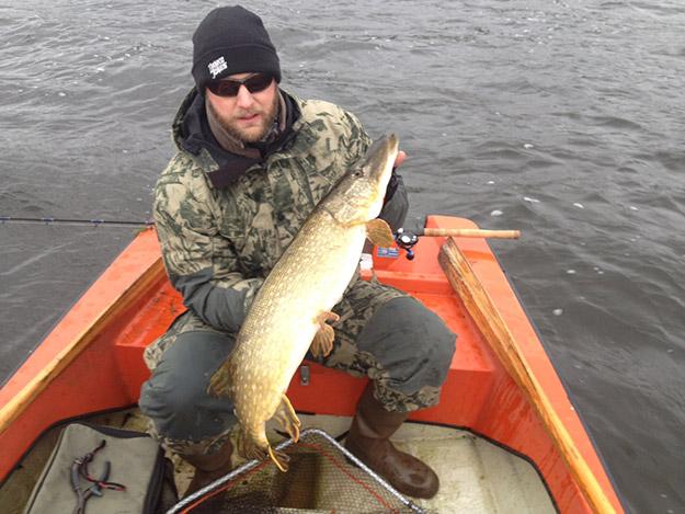 ErnieTail gav flest och störst fisk idag.