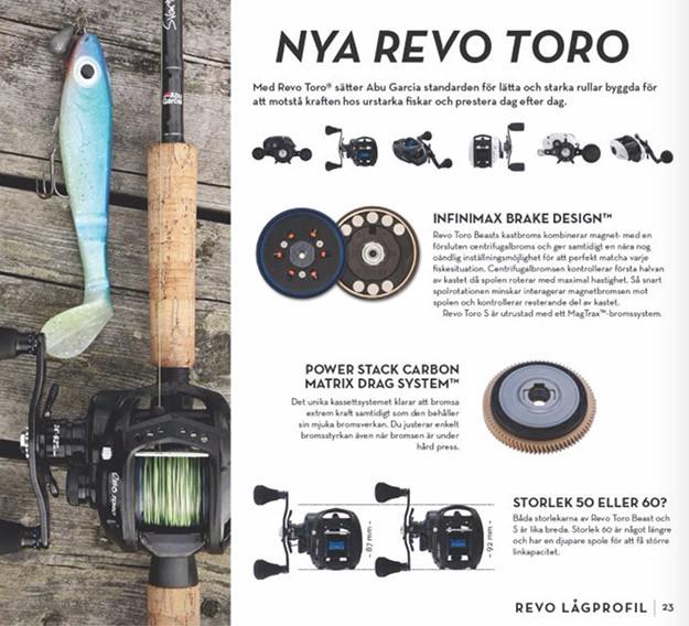 Revo Toro Beast - snygg presentation av produkter