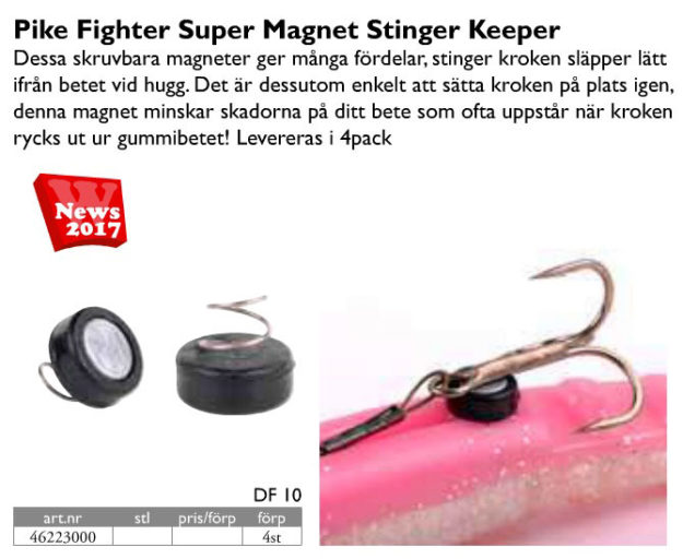 Spro Magnetic Stinger Keeper