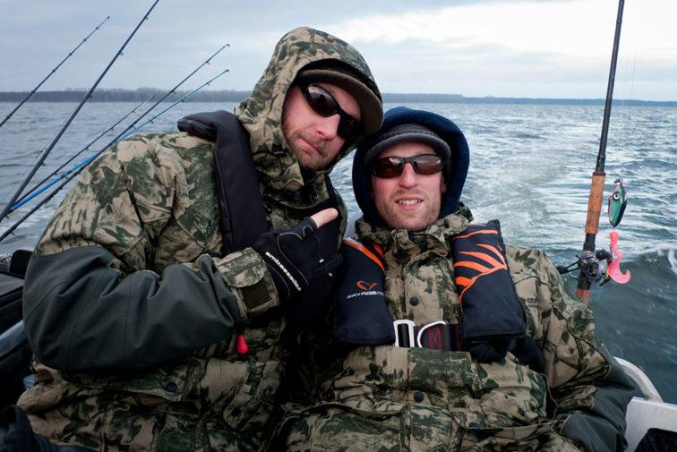 Rickard och Thomas från resan 2012