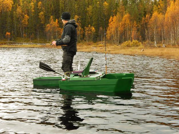 Båten går även att stå i