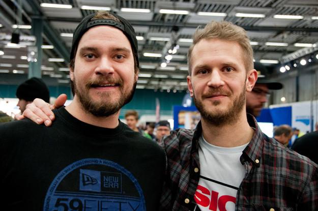"""Filip """"Holme baits"""" Holm och Johan """"Bjerks"""" Björk"""